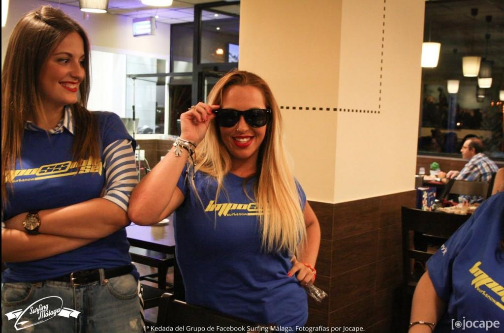 Una de las asistentes al evento con nuestras Gafas de Sol