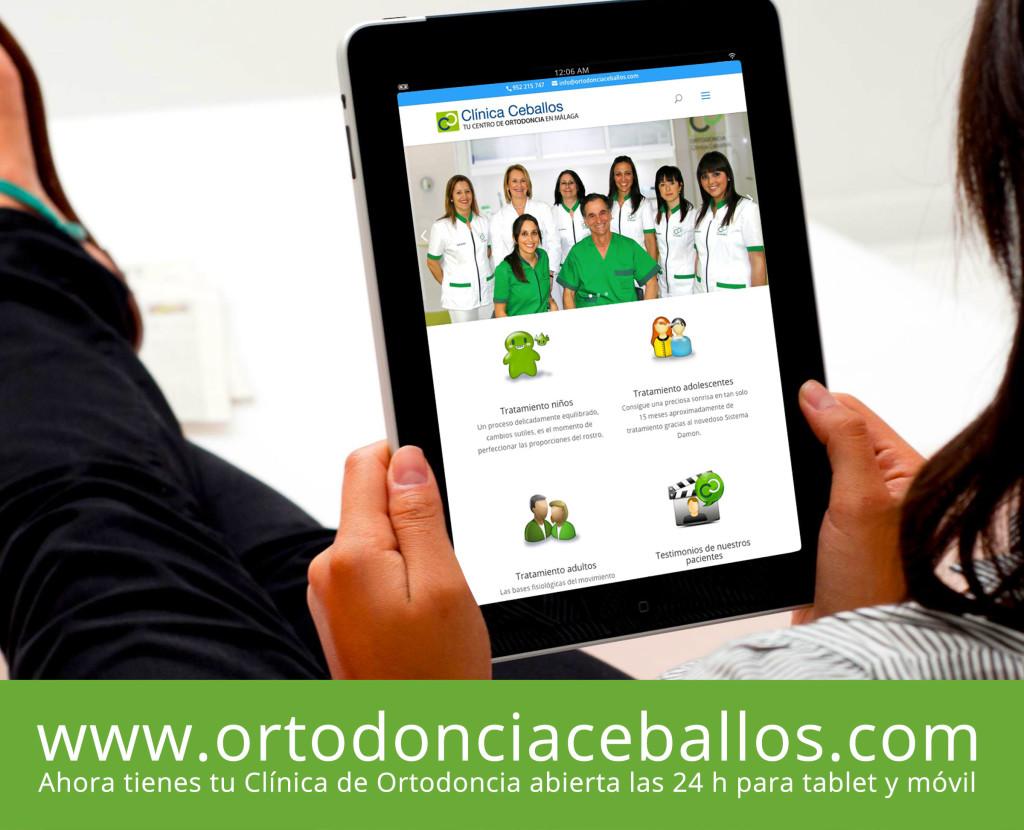 Chica-tablet-ortodoncia-malaga