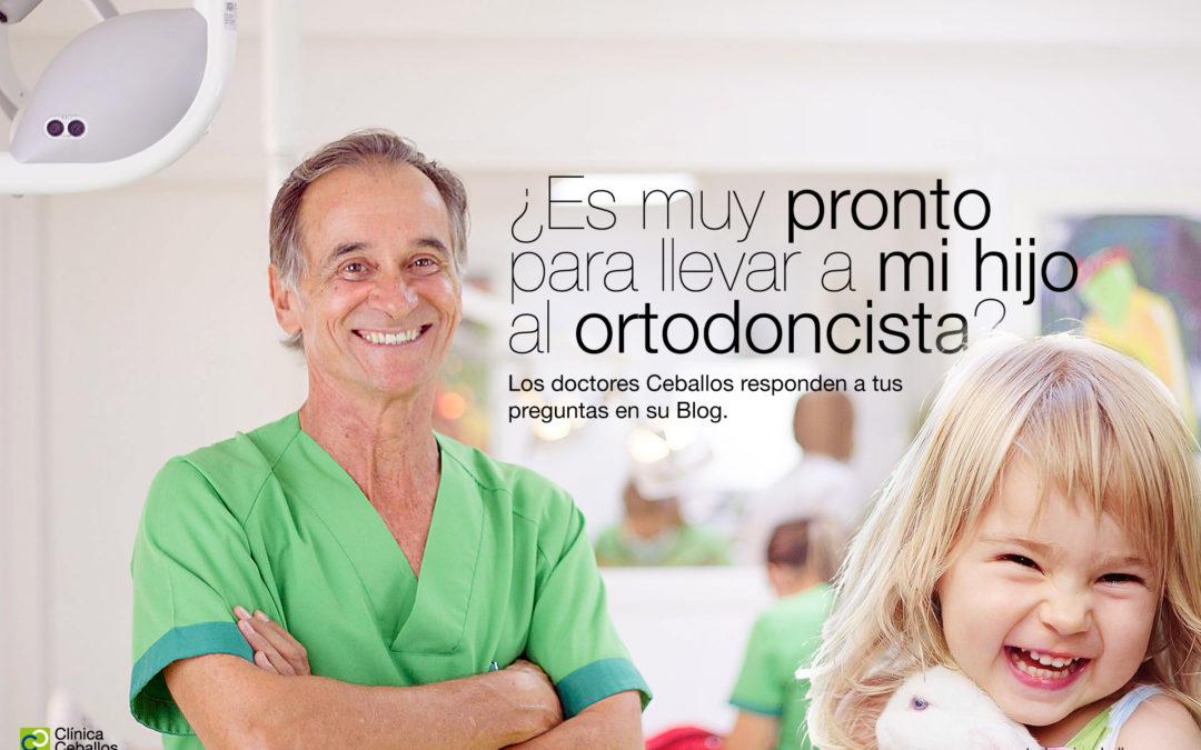 ¿Cuándo debo llevar a mi hijo al ortodoncista?